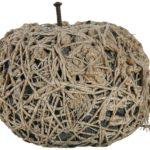 Claudio Cintoli - Chiodo Fisso, 1970 - corde, chiodo, cemento, 36x43x43 cm