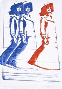 giosetta_fioroni-gli_involucri-1967-smalto_industriale_su_carta-100x70_cm