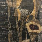 testa, 1998, tecnica mista, 30 x 40 cm