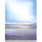 Yale Epstein - Blue mist - Collotipia e serigrafia ritoccata a mano 35-62 - 107 x 76 - 81 x 57 cm