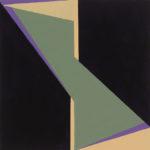 Yale Epstein - Geometric 09 - acrilico su carta - 15,24 x 15,24 cm