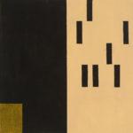 Yale Epstein - Geometric 12 - acrilico su carta - 15,24 x 15,24 cm