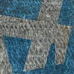 Yale Epstein - Geometric 25 - acrilico su carta - 15,24 x 15,24 cm