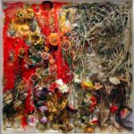 Judy Pfaff - Rosie's Bed, 2009 - Tecnica mista - 231 x 231 x 15 cm