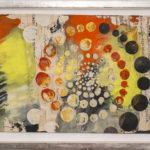 Judy Pfaff - rOOster 15, 2016 - Tecnica mista su carta - 71 x 30 cm