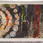 Judy Pfaff - rOOster 16, 2016 - Tecnica mista su carta - 71 x 30 cm