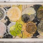 Judy Pfaff - rOOster 21, 2016 - Tecnica mista su carta - 73 x 30 cm