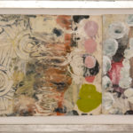 Judy Pfaff - rOOster 32, 2016 - Tecnica mista su carta - 149 x 31 cm