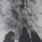 Studio.1988, tecnica mista su carta, cm 57x76.