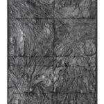 Sequenze, resina ed alluminio, cm 140x86, 2014