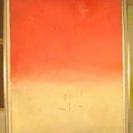 Valentino Vago, P.E. 107, olio su tela, cm 100x81, 1972