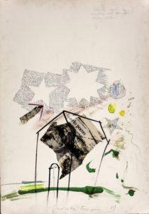 Fioroni Giosetta, Like in the wind, 1989, tecnica mista e collage su carta, cm 100x70-min.jpg