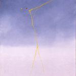Valentino Vago, G.S.60, 1996, olio su tela, cm 100x81