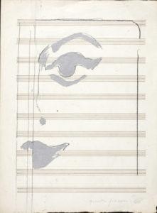 giosetta_fioroni-fisionomie-1966-vernice_alluminio_e_matita_su_carta-29x22_cm