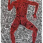 keith_haring-into_84_shafrazi_gallery_poster-litografia_offset-70x90_cm-1984