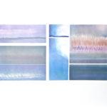 Yale Epstein - Aurora - Collotipia e serigrafia ritoccata a mano AP 3-10 - 105 x 77 - 82 x 40 cm