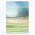 Yale Epstein - Island mist - Collotipia e serigrafia ritoccata a mano 28-62 - 107 x 78 - 70 x 48 cm